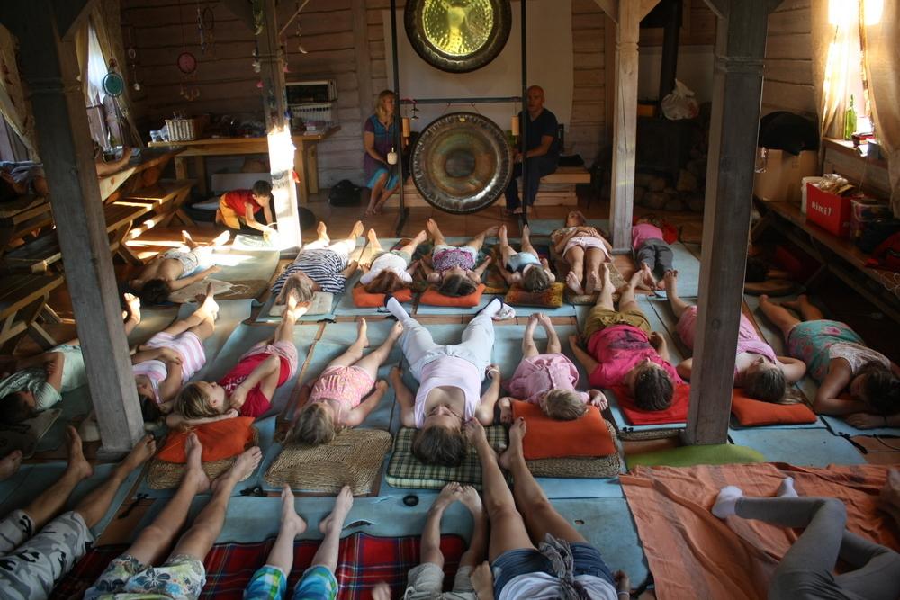 Gongų maudynes vaikams