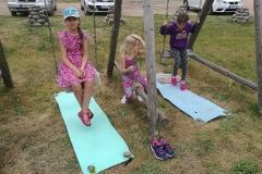 Gervinių stovykla. Mergaičių pamaina. 2018. Asmeninės erdvės
