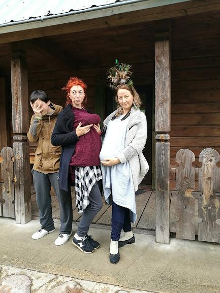 Gervinių stovykla 2018. Teatro pamaina. Vadovai cirkinasi