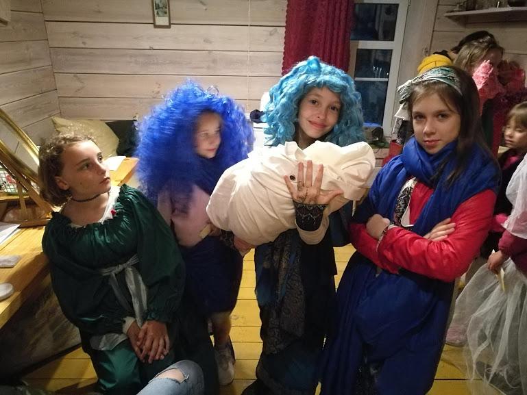 """Gervinių stovykla 2018. Teatro pamaina. Pasiruošę """"knygnešiai"""""""