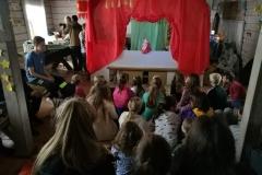 Gervinių stovykla 2018. Teatro pamaina. Lėlių teatras