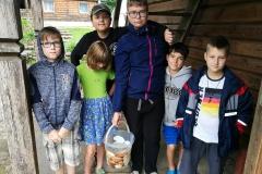 Gervinių stovykla. 2018. Žiedų/Amatų pamaina. Žvejai