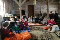 Gervinių stovykla 2018. Teatro pamaina. Susipažinimo susirinkimas